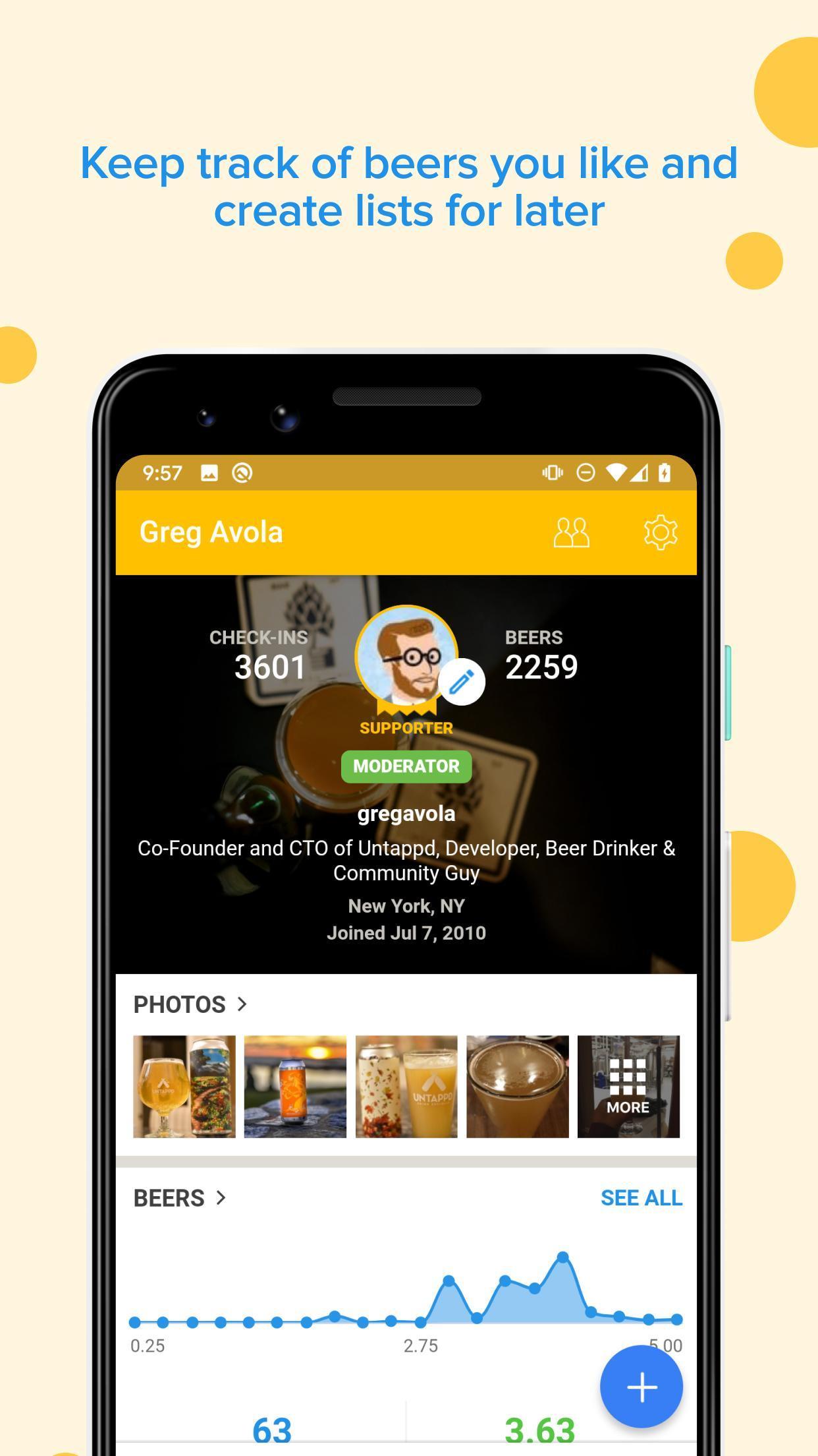 Untappd Discover Beer 3.4.91 Screenshot 5