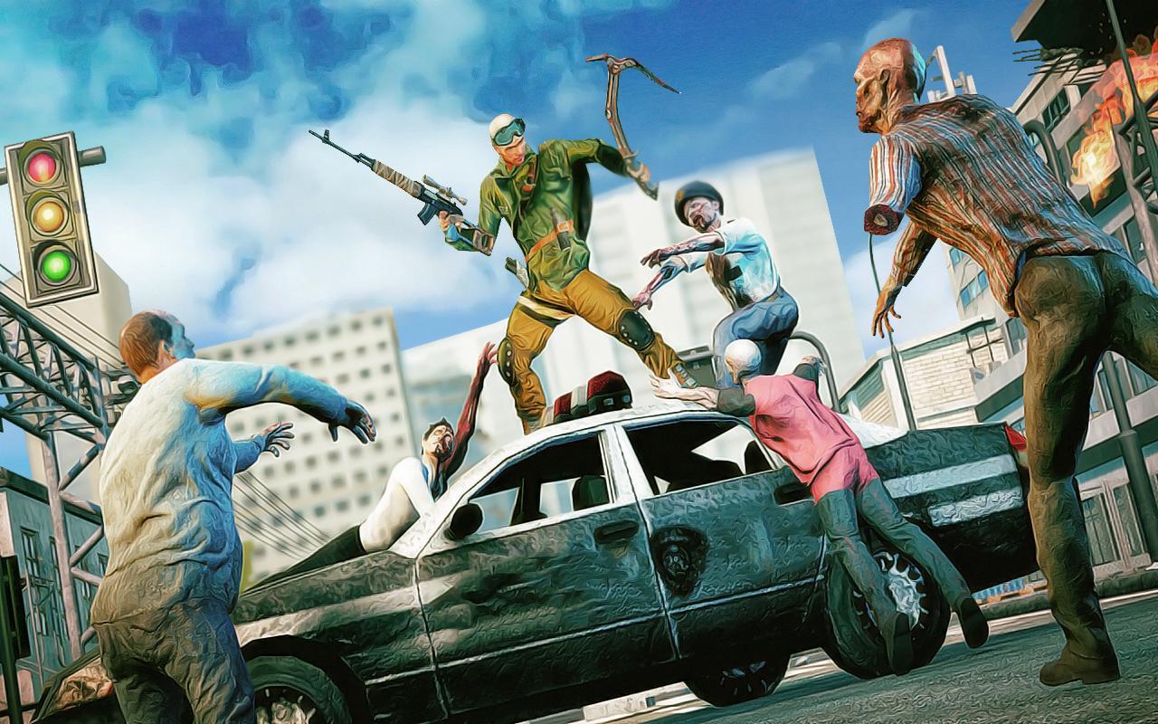 Zombie Hunter To Dead Target Free Shooting Games 1.1 Screenshot 1