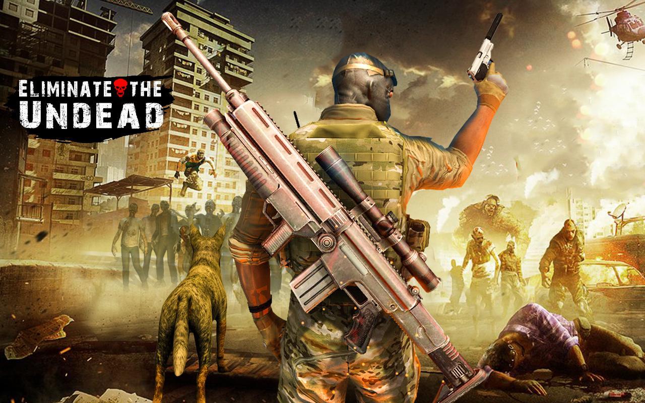 Zombie Hunter To Dead Target Free Shooting Games 1.1 Screenshot 2