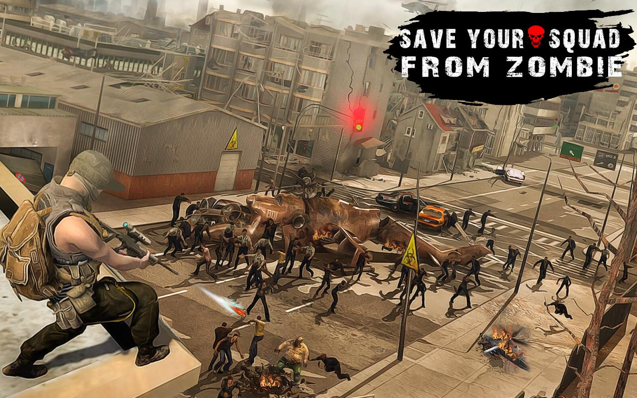 Zombie Hunter To Dead Target Free Shooting Games 1.1 Screenshot 5