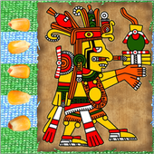 Puluc Mayan running-fight board game app icon
