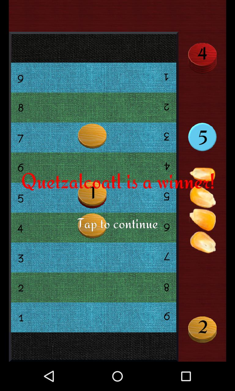 Puluc Mayan running-fight board game 1.9.2 Screenshot 6