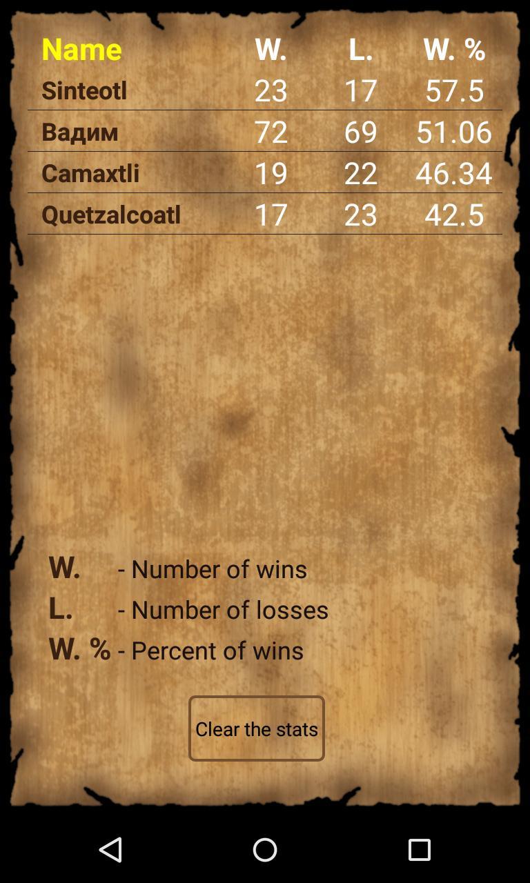 Puluc Mayan running-fight board game 1.9.2 Screenshot 7