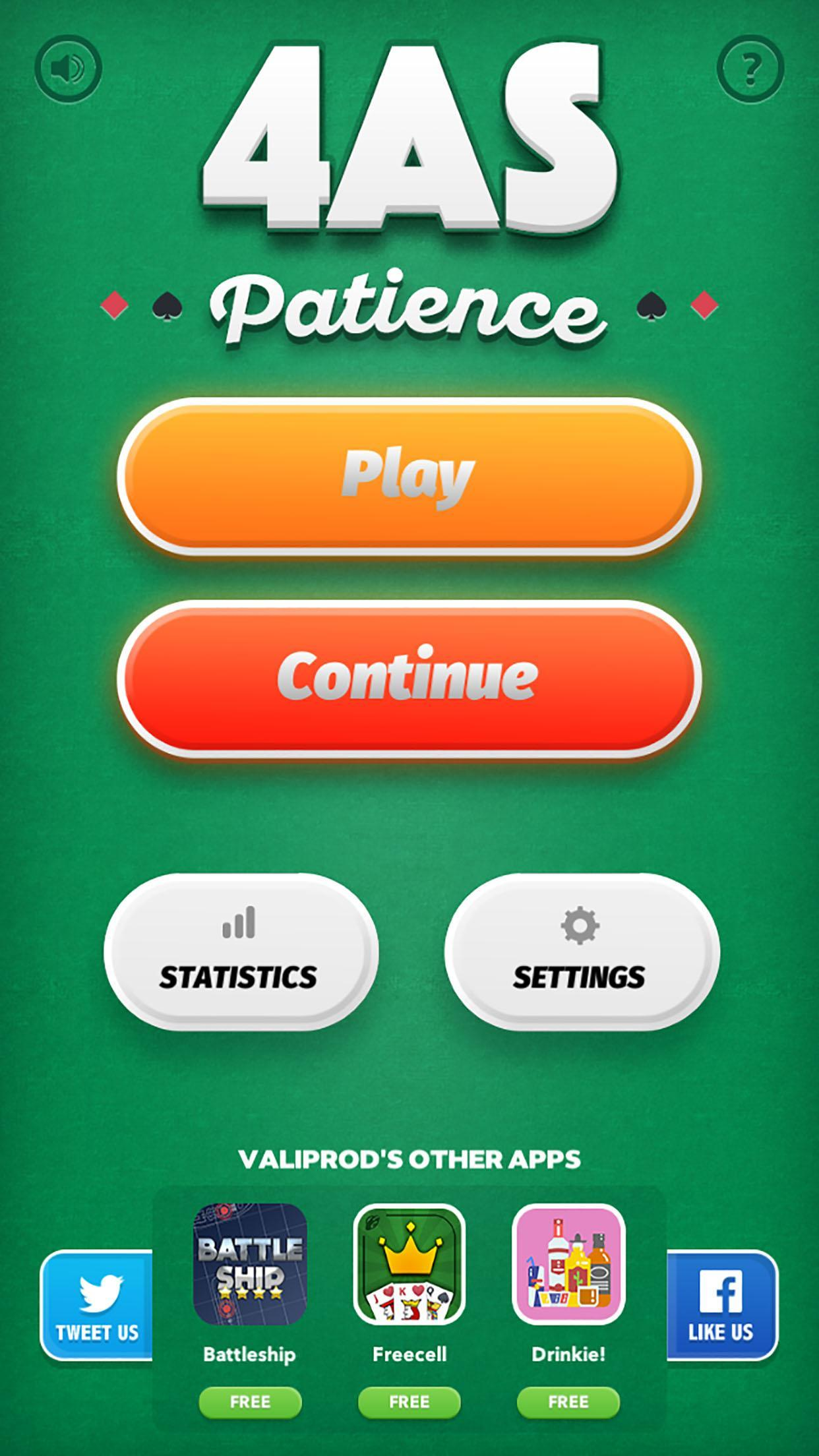 Aces Up -  Easthaven Solitaire game 2.0.0 Screenshot 3