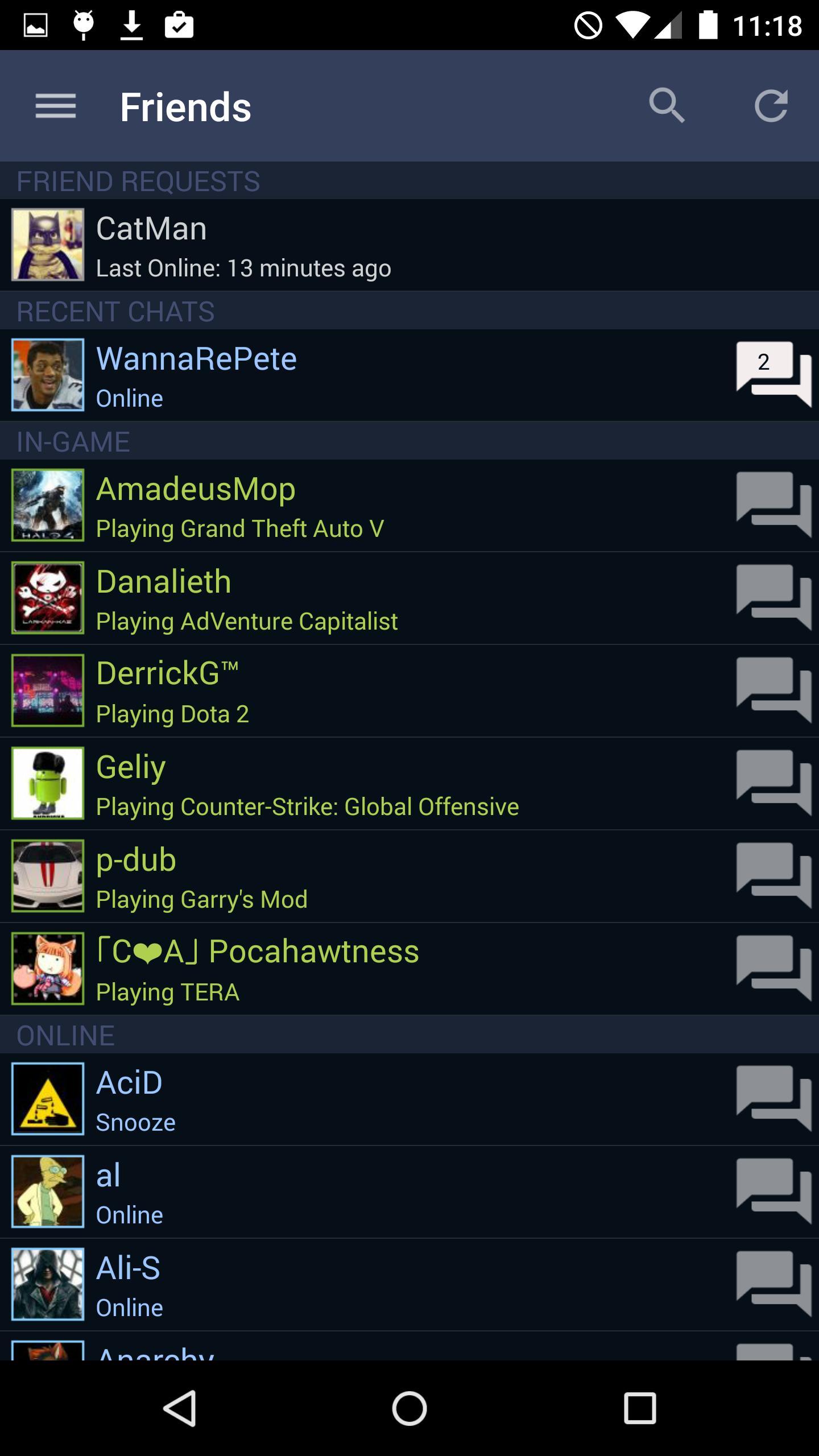 Steam 2.3.11 Screenshot 1