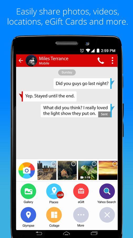 Verizon Messages 6.9.11 Screenshot 3