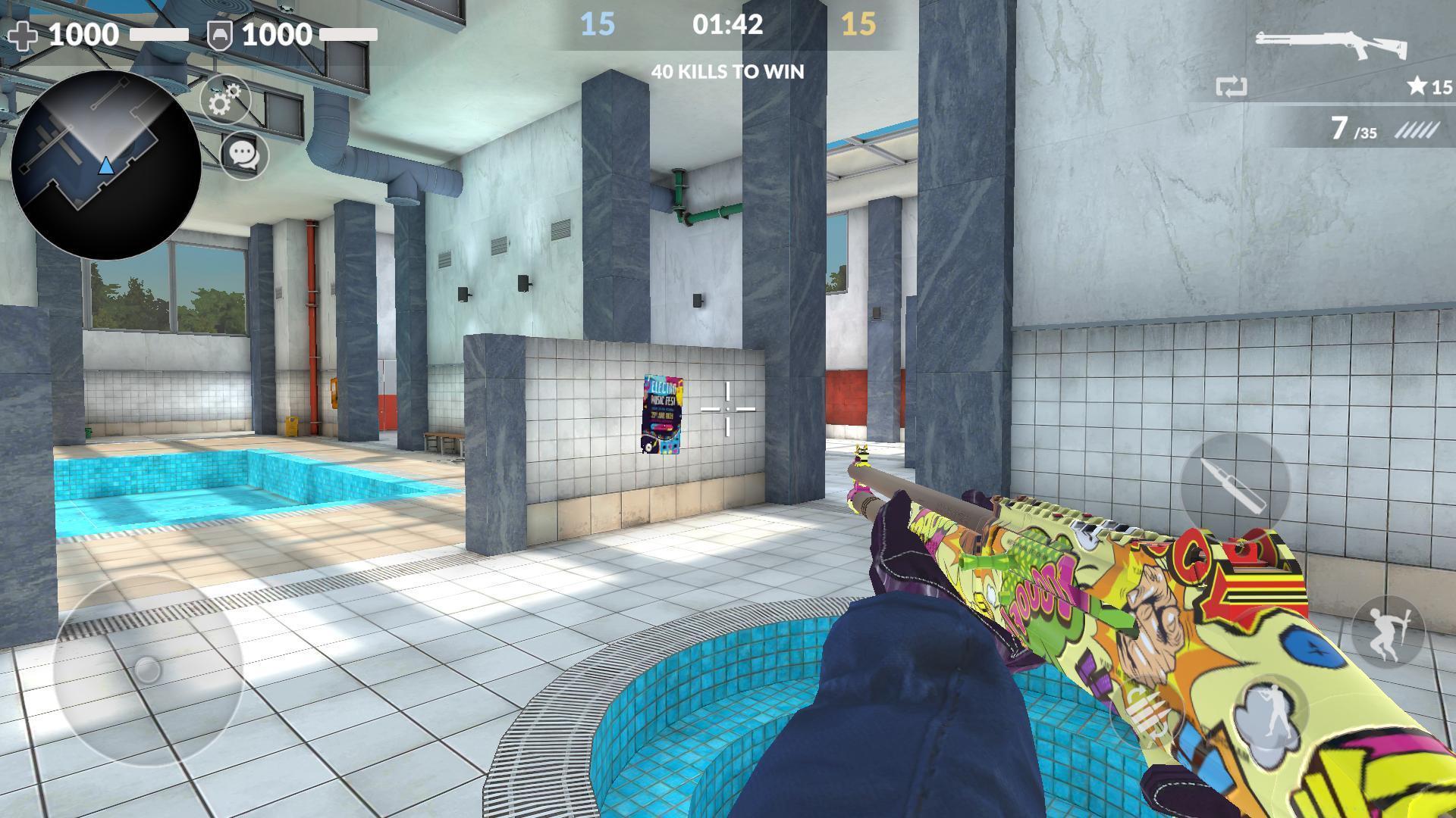 Critical Strike CS: Counter Terrorist Online FPS 9.9990 Screenshot 6