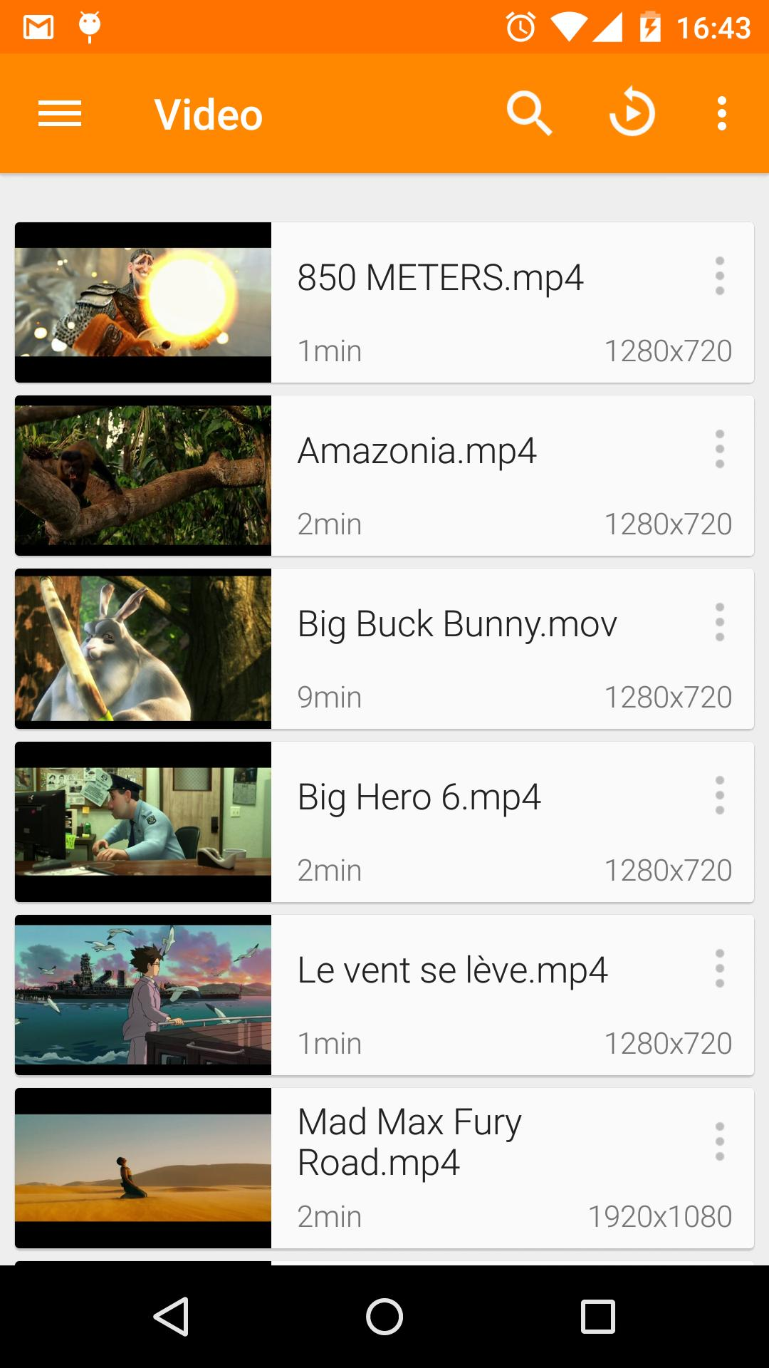 VLC for Android 3.2.12 Screenshot 1