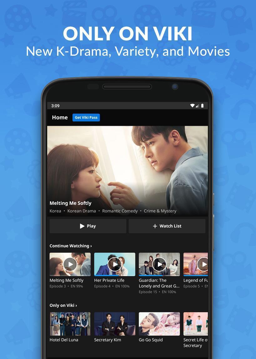 Viki Korean Dramas, Movies & Chinese Dramas 5.5.3 Screenshot 1