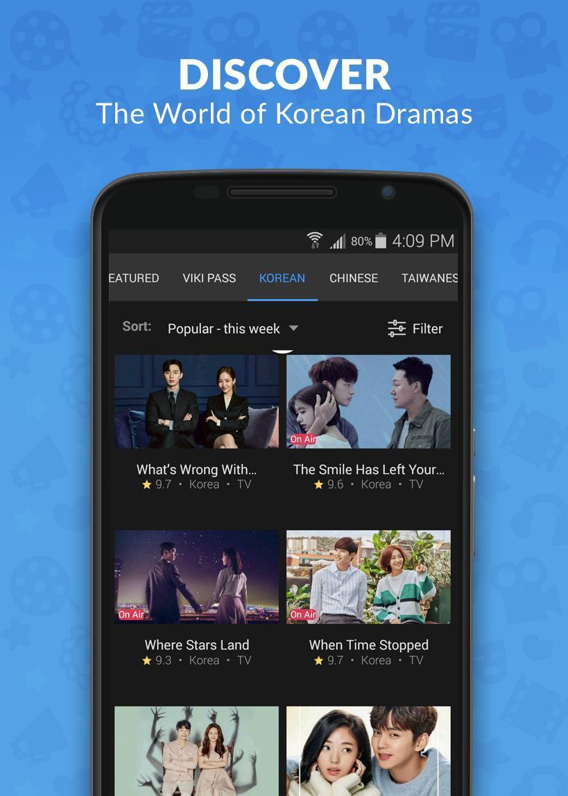 Viki Korean Dramas, Movies & Chinese Dramas 5.5.3 Screenshot 2