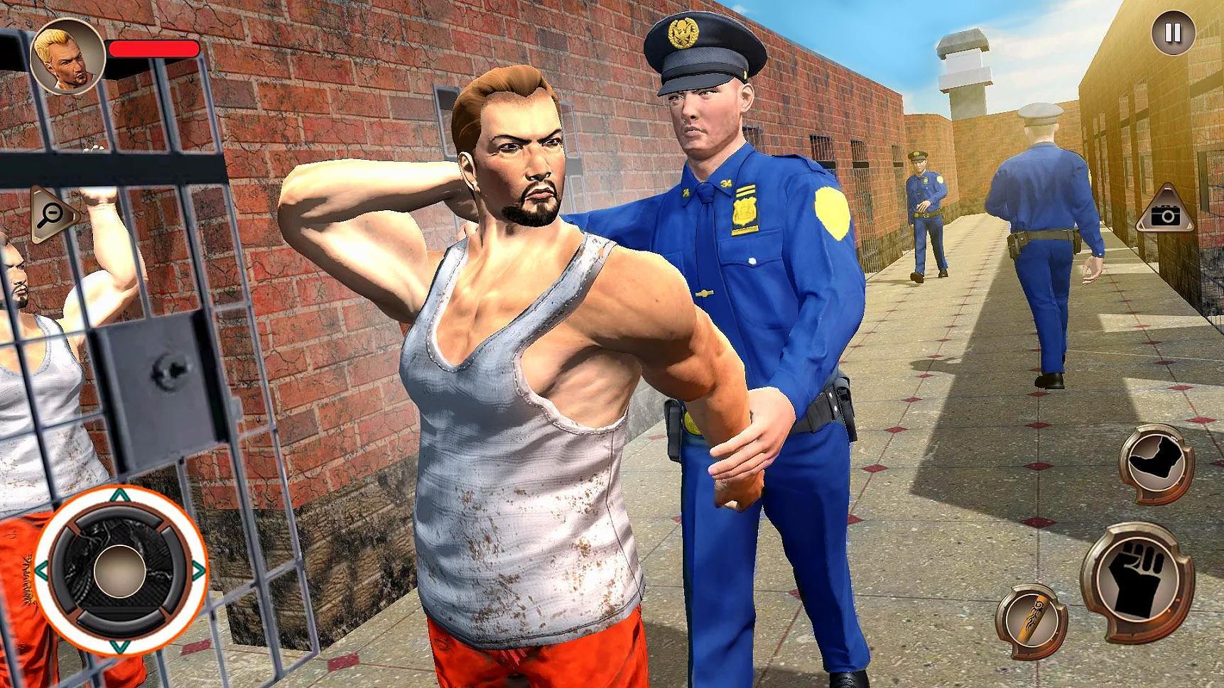 US Police Grand Jail break Prison Escape Games 1.9 Screenshot 15