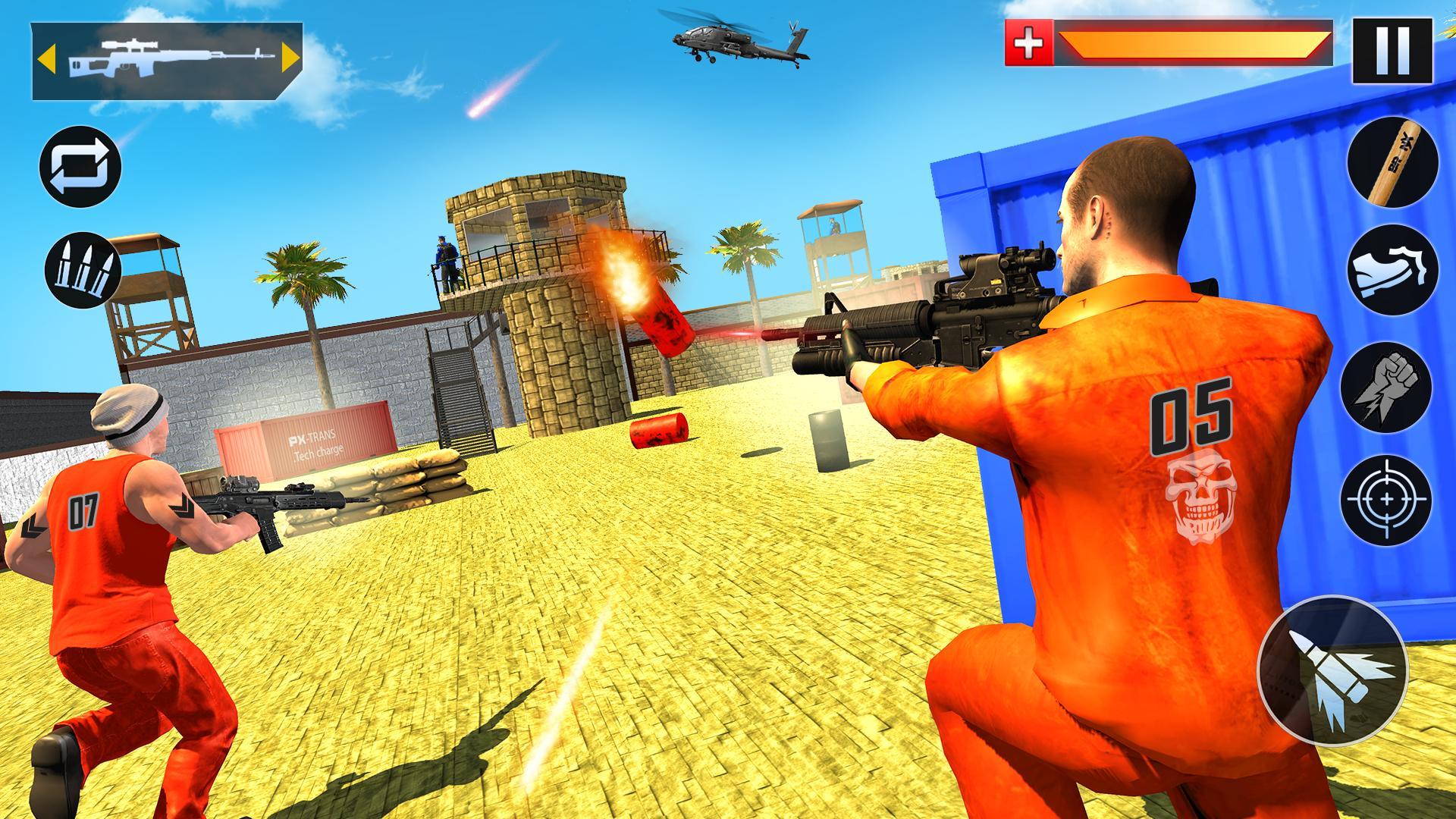 US Police Grand Jail break Prison Escape Games 1.9 Screenshot 2