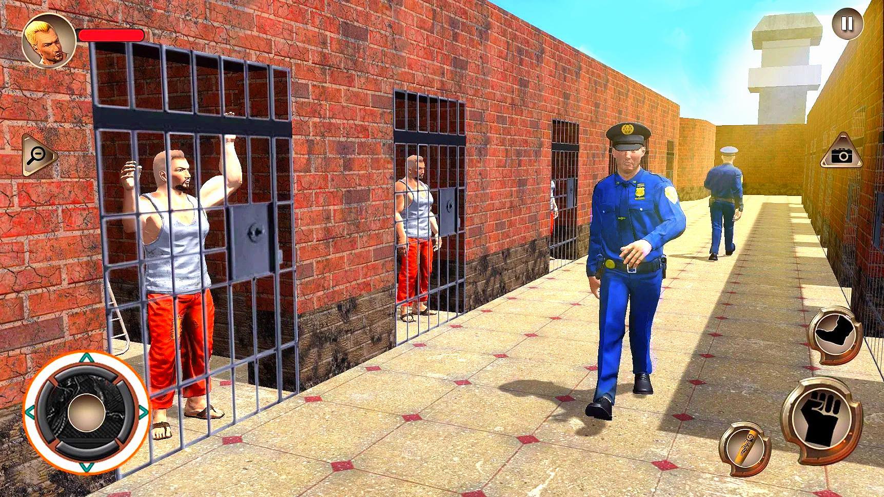 US Police Grand Jail break Prison Escape Games 1.9 Screenshot 3