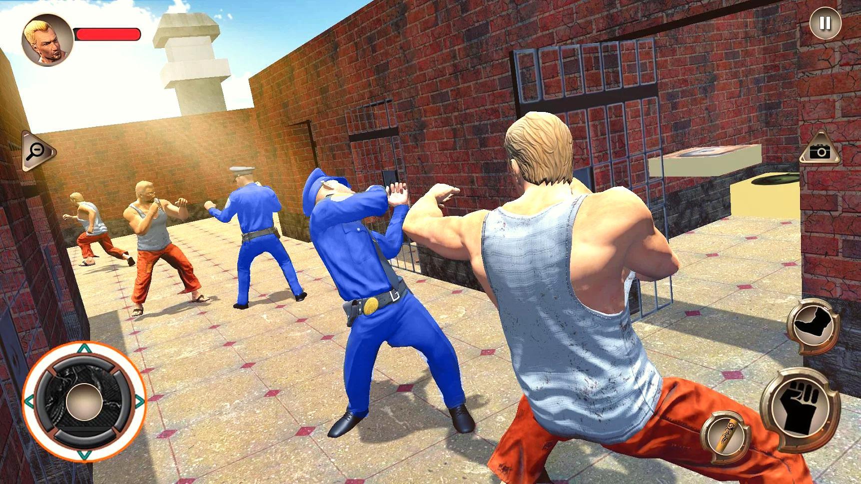 US Police Grand Jail break Prison Escape Games 1.9 Screenshot 4