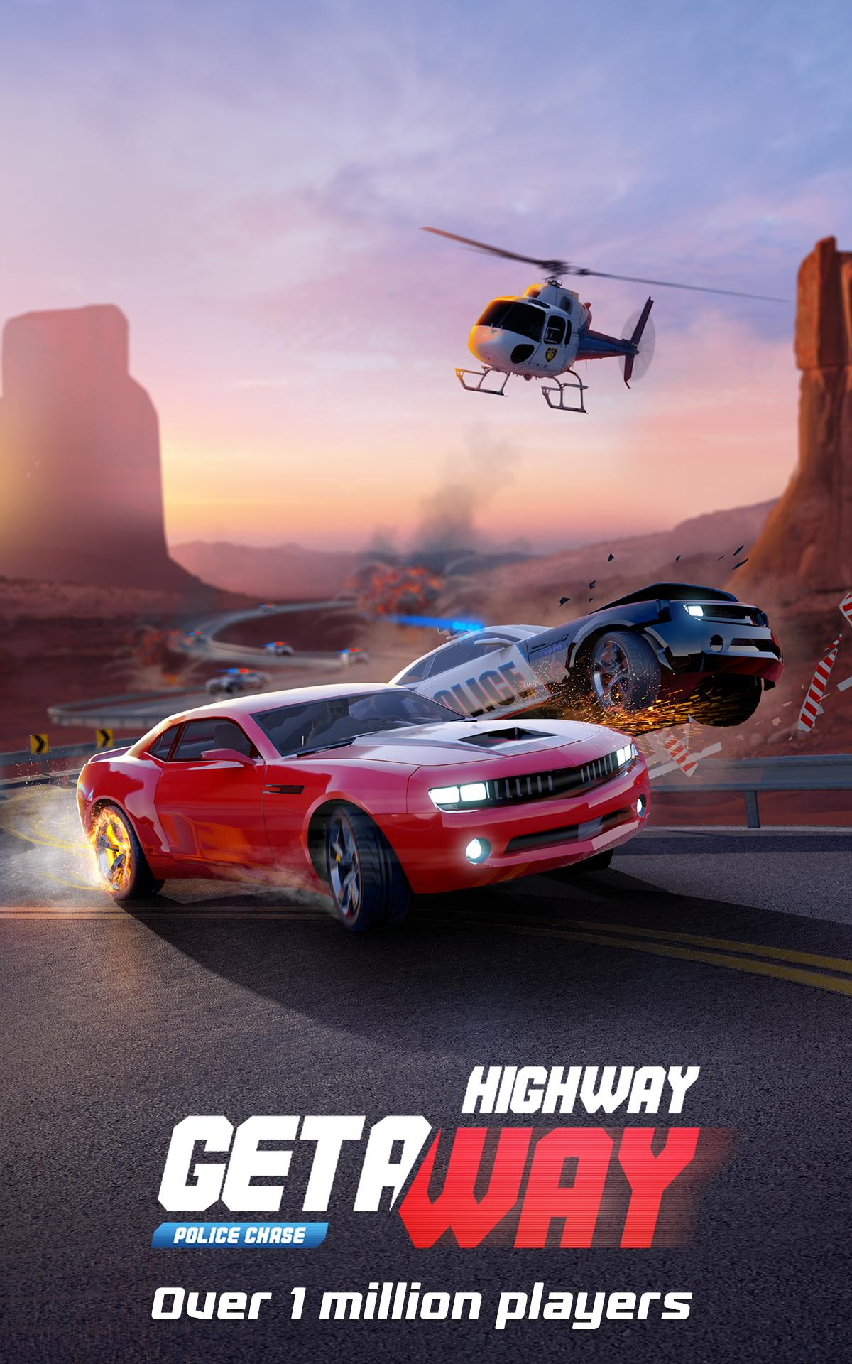 Highway Getaway: Police Chase 1.2.2 Screenshot 1