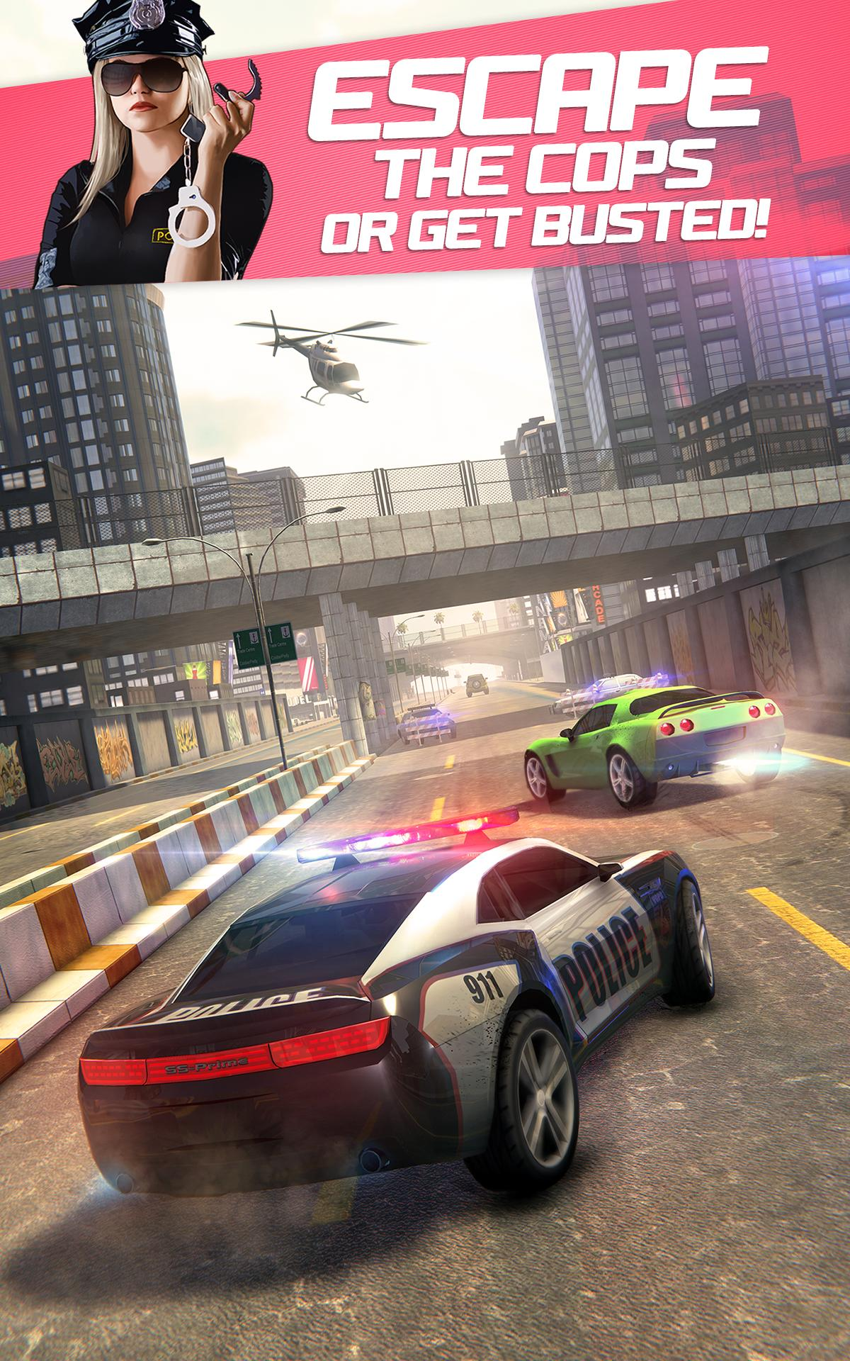 Highway Getaway: Police Chase 1.2.2 Screenshot 2