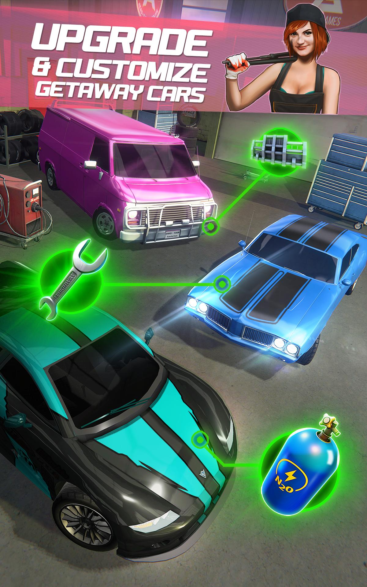 Highway Getaway: Police Chase 1.2.2 Screenshot 3