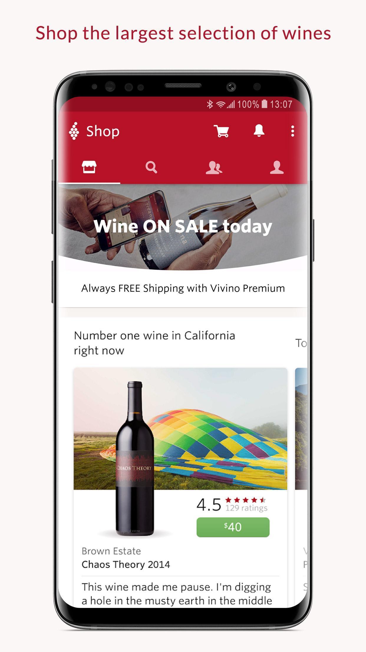 Vivino Buy the Right Wine 8.18.72 Screenshot 1
