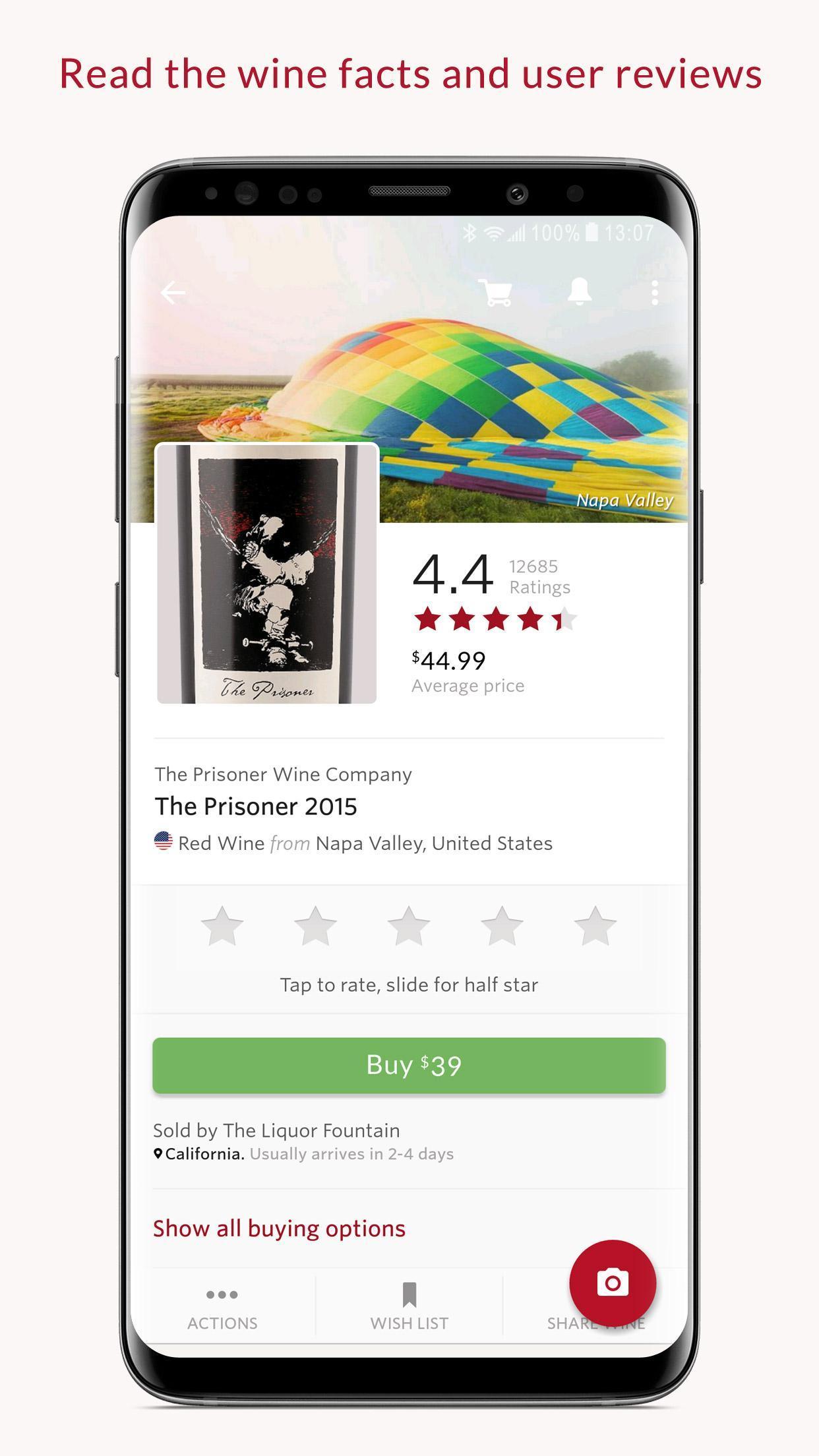 Vivino Buy the Right Wine 8.18.72 Screenshot 3