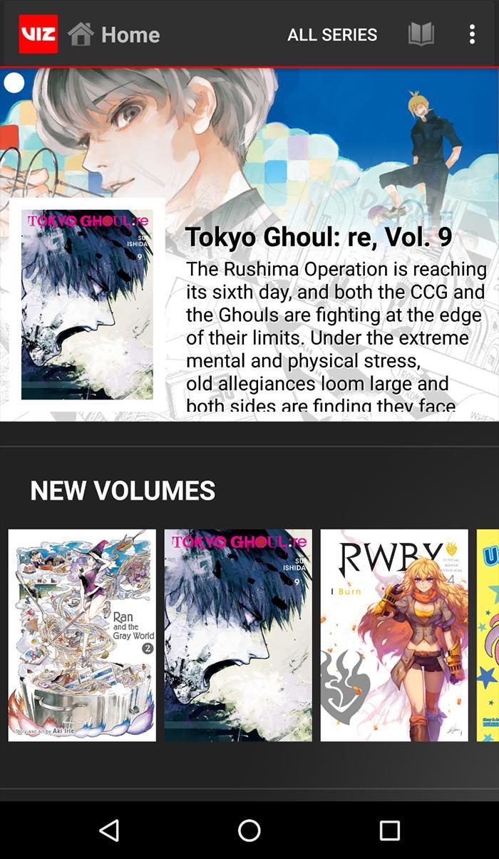 VIZ Manga – Direct from Japan 4.2.1 Screenshot 1