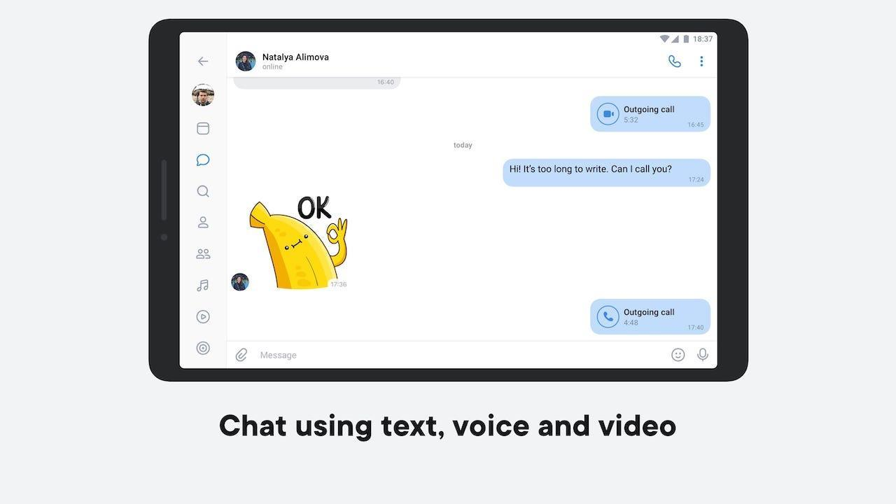 VK — live chatting & free calls 6.15 Screenshot 6