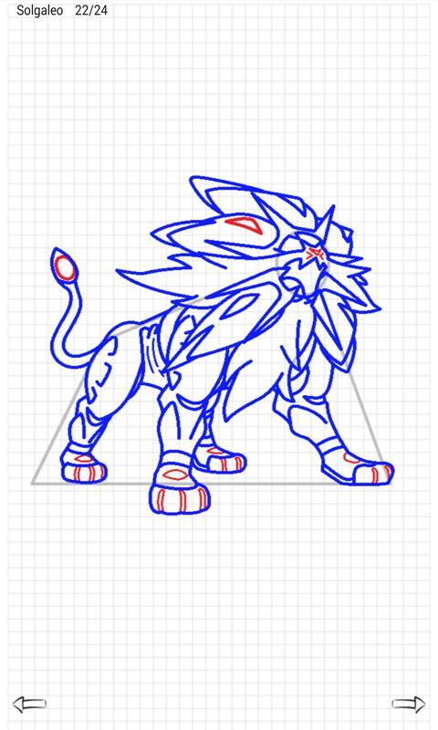 Learn to Draw Pokemon Sun Moon 2.1 Screenshot 5