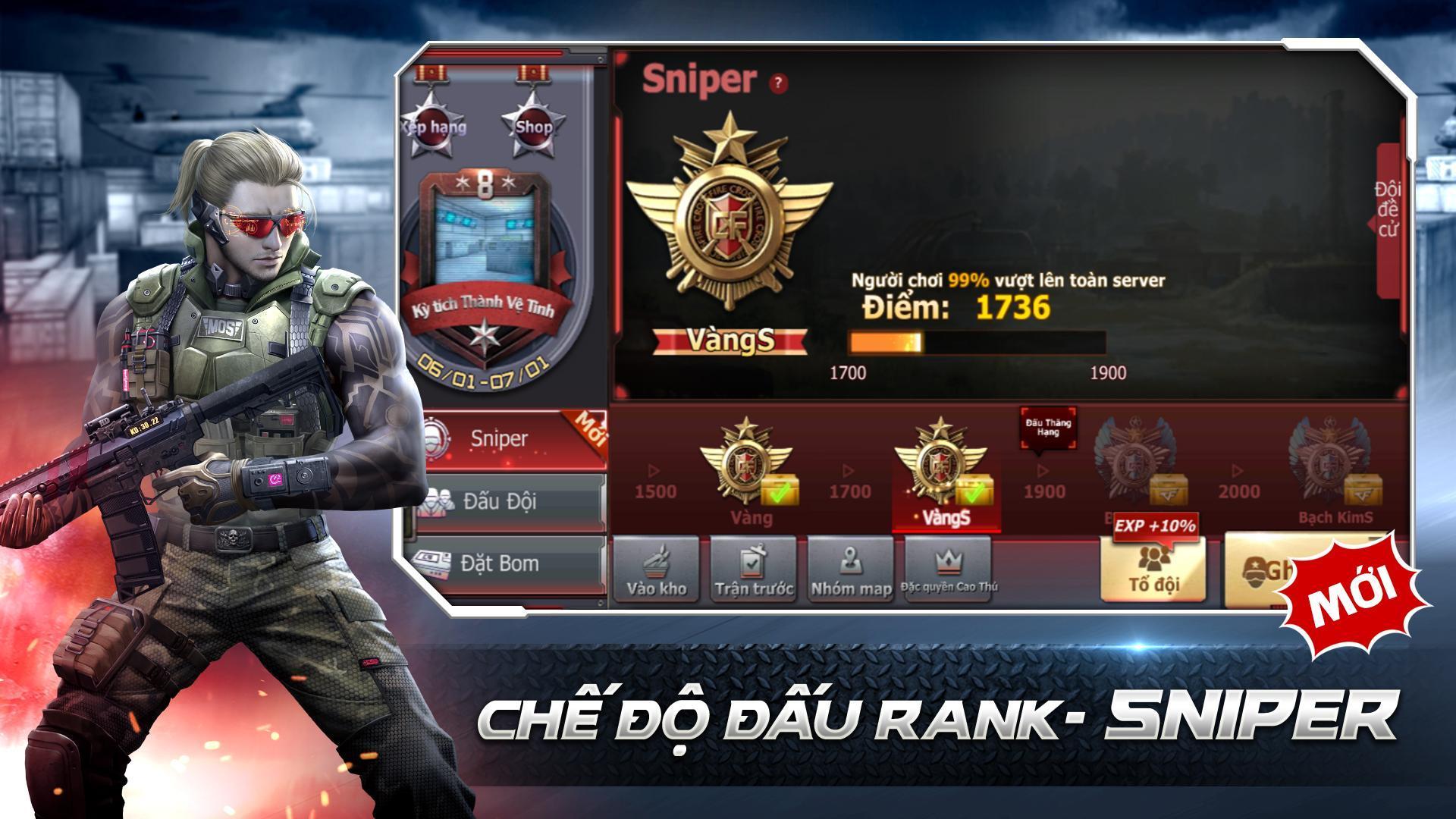 CrossFire: Legends 1.0.50.50 Screenshot 10