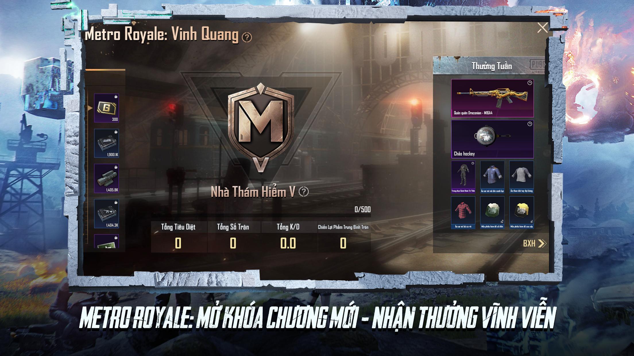 PUBG MOBILE VN - METRO ROYALE 1.2.0 Screenshot 6