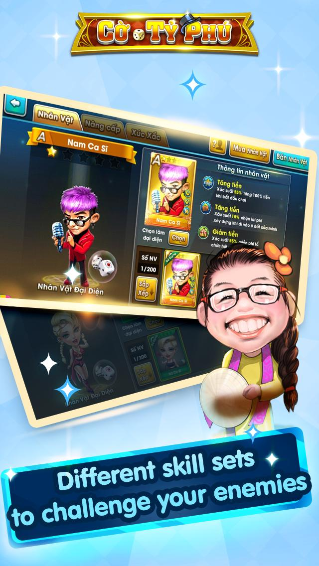 Cờ Tỷ Phú Co Ty Phu ZingPlay - Game Cờ 3.4.11 Screenshot 11
