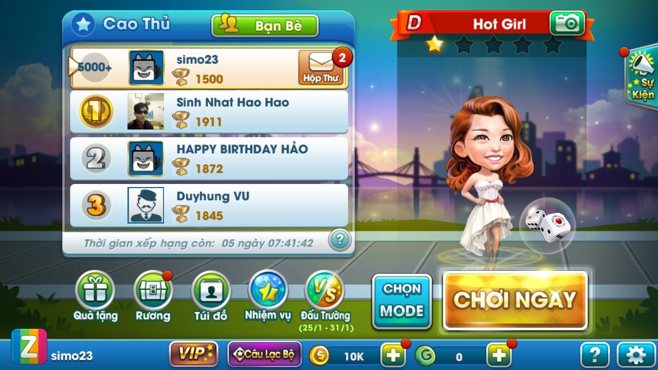 Cờ Tỷ Phú Co Ty Phu ZingPlay - Game Cờ 3.4.11 Screenshot 12