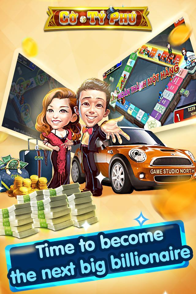 Cờ Tỷ Phú Co Ty Phu ZingPlay - Game Cờ 3.4.11 Screenshot 14