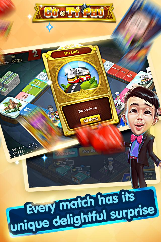 Cờ Tỷ Phú Co Ty Phu ZingPlay - Game Cờ 3.4.11 Screenshot 15