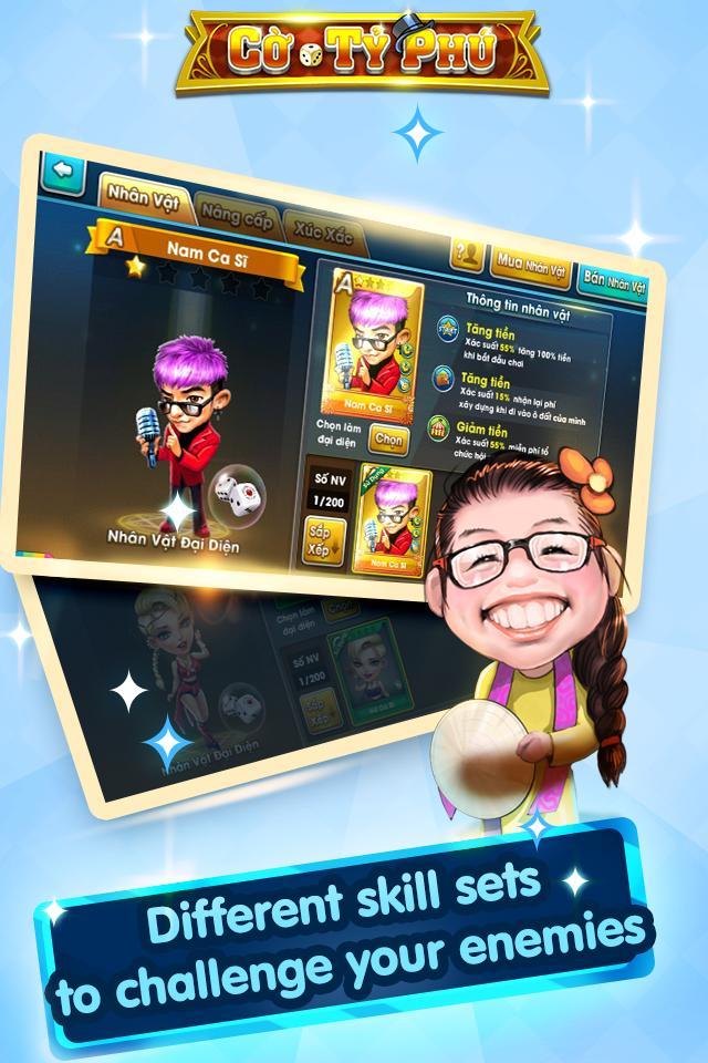 Cờ Tỷ Phú Co Ty Phu ZingPlay - Game Cờ 3.4.11 Screenshot 17