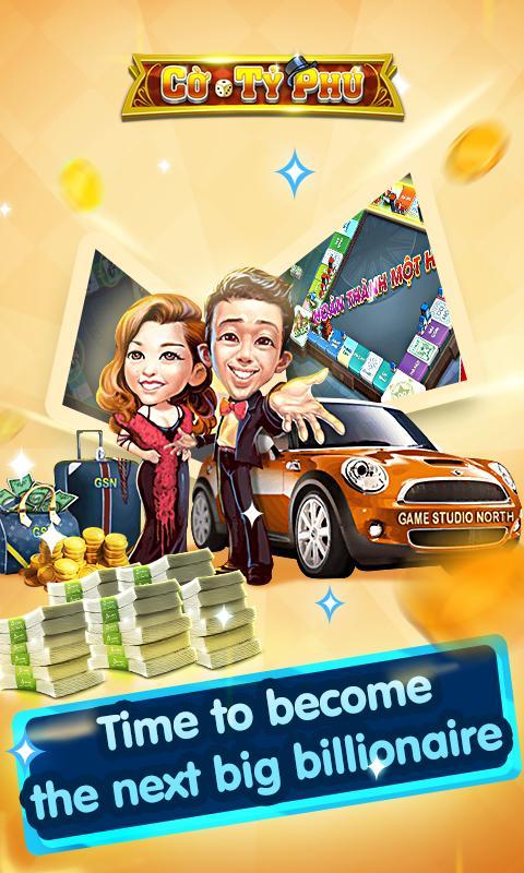 Cờ Tỷ Phú Co Ty Phu ZingPlay - Game Cờ 3.4.11 Screenshot 2