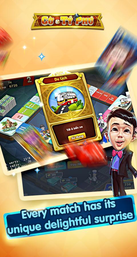 Cờ Tỷ Phú Co Ty Phu ZingPlay - Game Cờ 3.4.11 Screenshot 3