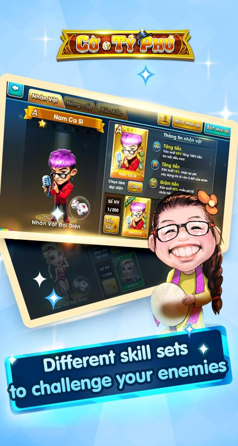 Cờ Tỷ Phú Co Ty Phu ZingPlay - Game Cờ 3.4.11 Screenshot 5