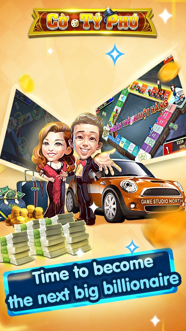 Cờ Tỷ Phú Co Ty Phu ZingPlay - Game Cờ 3.4.11 Screenshot 8