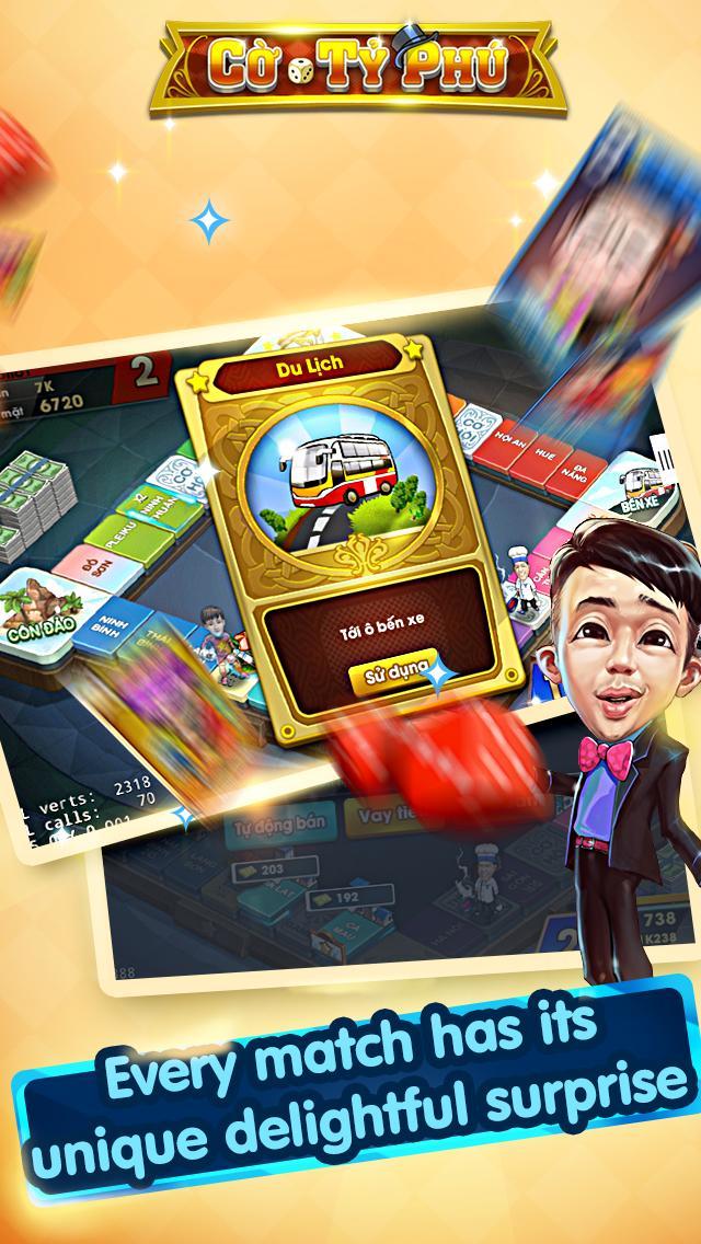 Cờ Tỷ Phú Co Ty Phu ZingPlay - Game Cờ 3.4.11 Screenshot 9