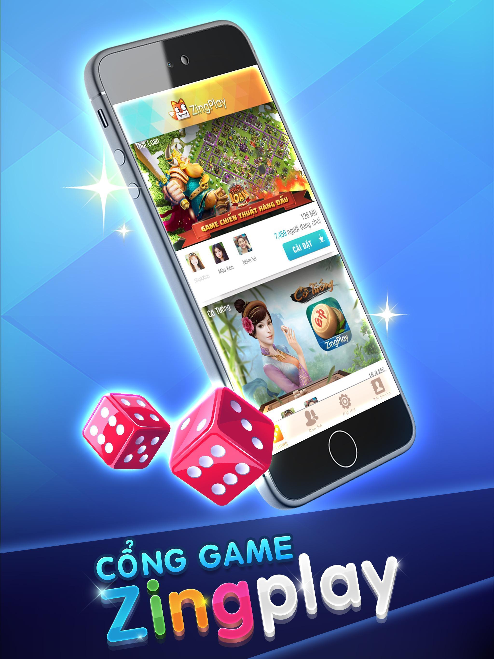ZingPlay HD - Cổng game - Game Bài - Game Cờ 1.0.7 Screenshot 5