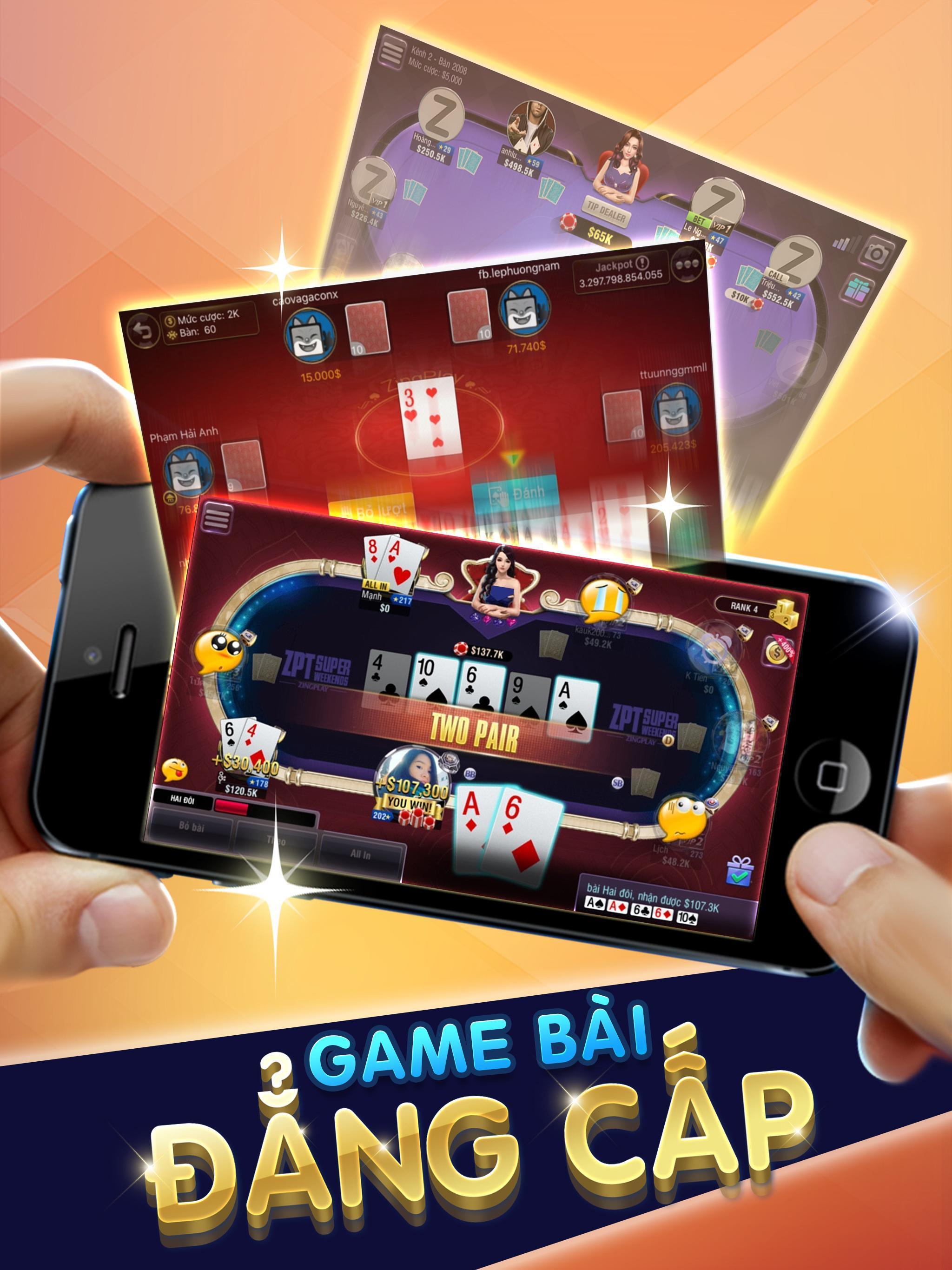 ZingPlay HD - Cổng game - Game Bài - Game Cờ 1.0.7 Screenshot 6