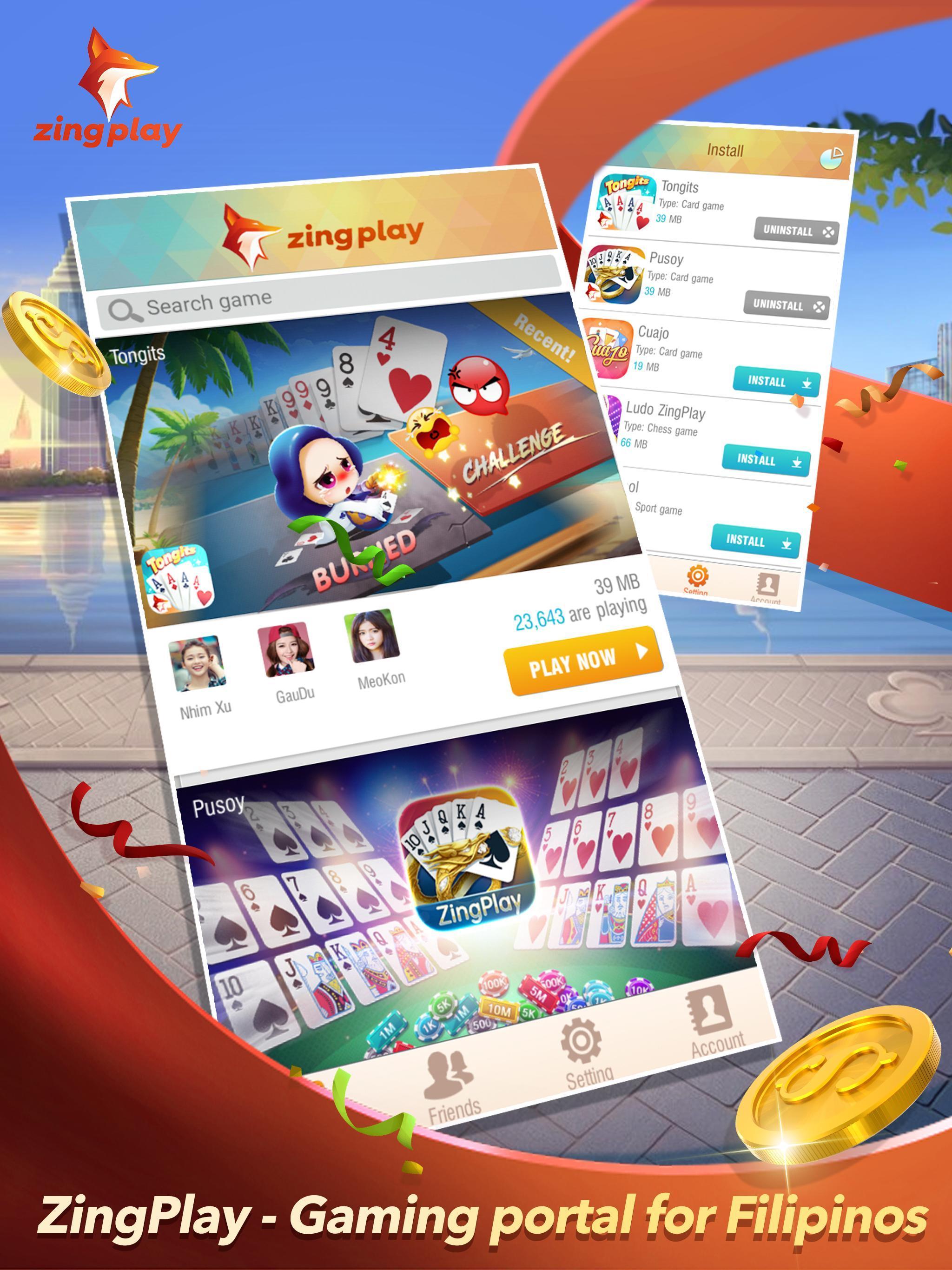 ZingPlay Portal - Games Center - Tongits - Pusoy 1.0.9 Screenshot 7