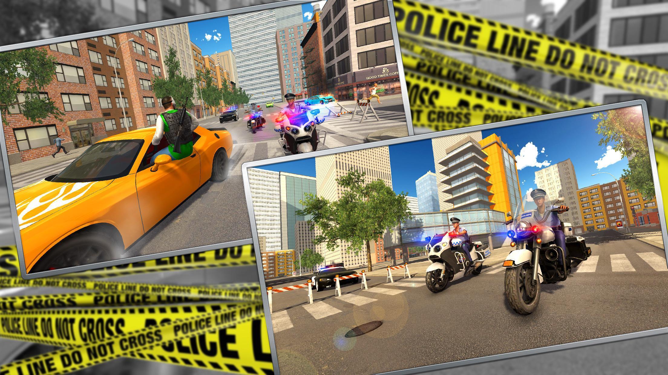 Police Moto Bike Chase – Free Shooting Games 2.0.3 Screenshot 19