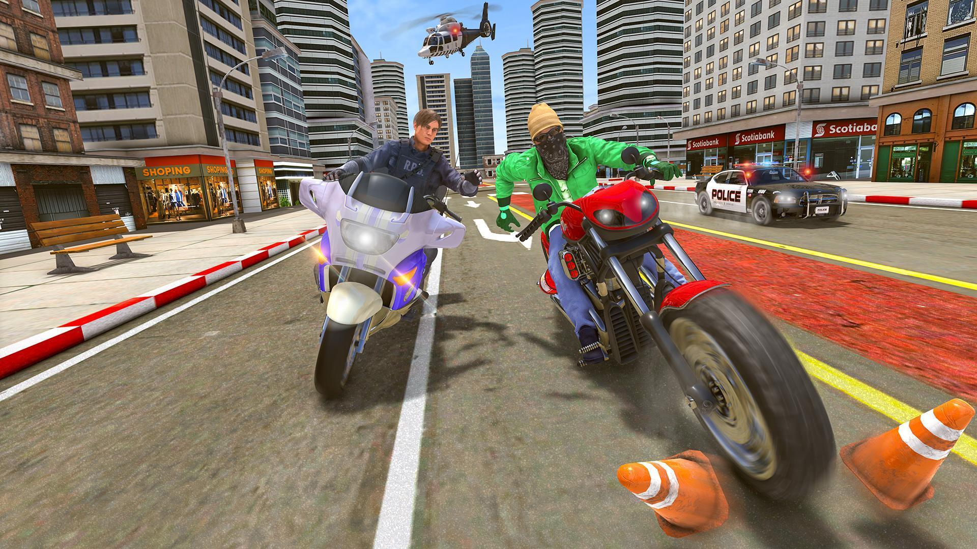 Police Moto Bike Chase – Free Shooting Games 2.0.3 Screenshot 4