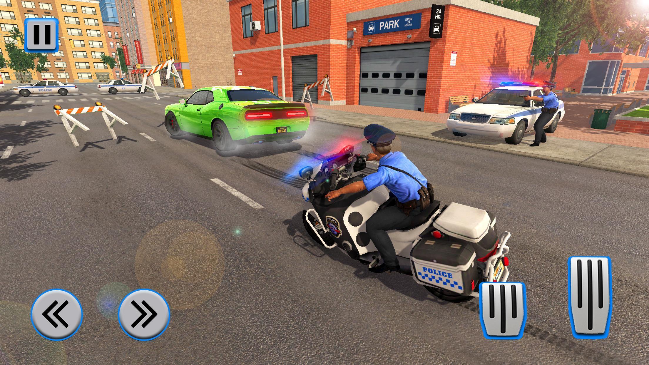 Police Moto Bike Chase – Free Shooting Games 2.0.3 Screenshot 6