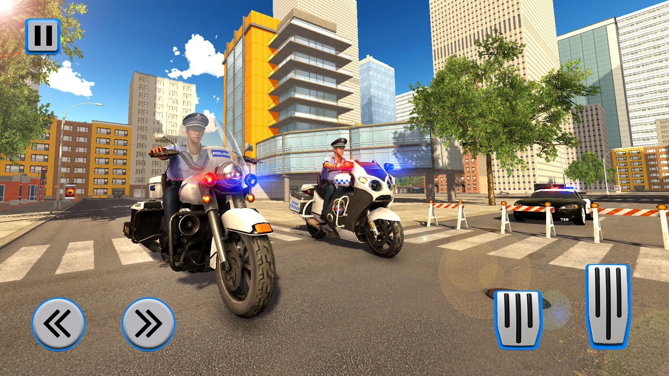 Police Moto Bike Chase – Free Shooting Games 2.0.3 Screenshot 8