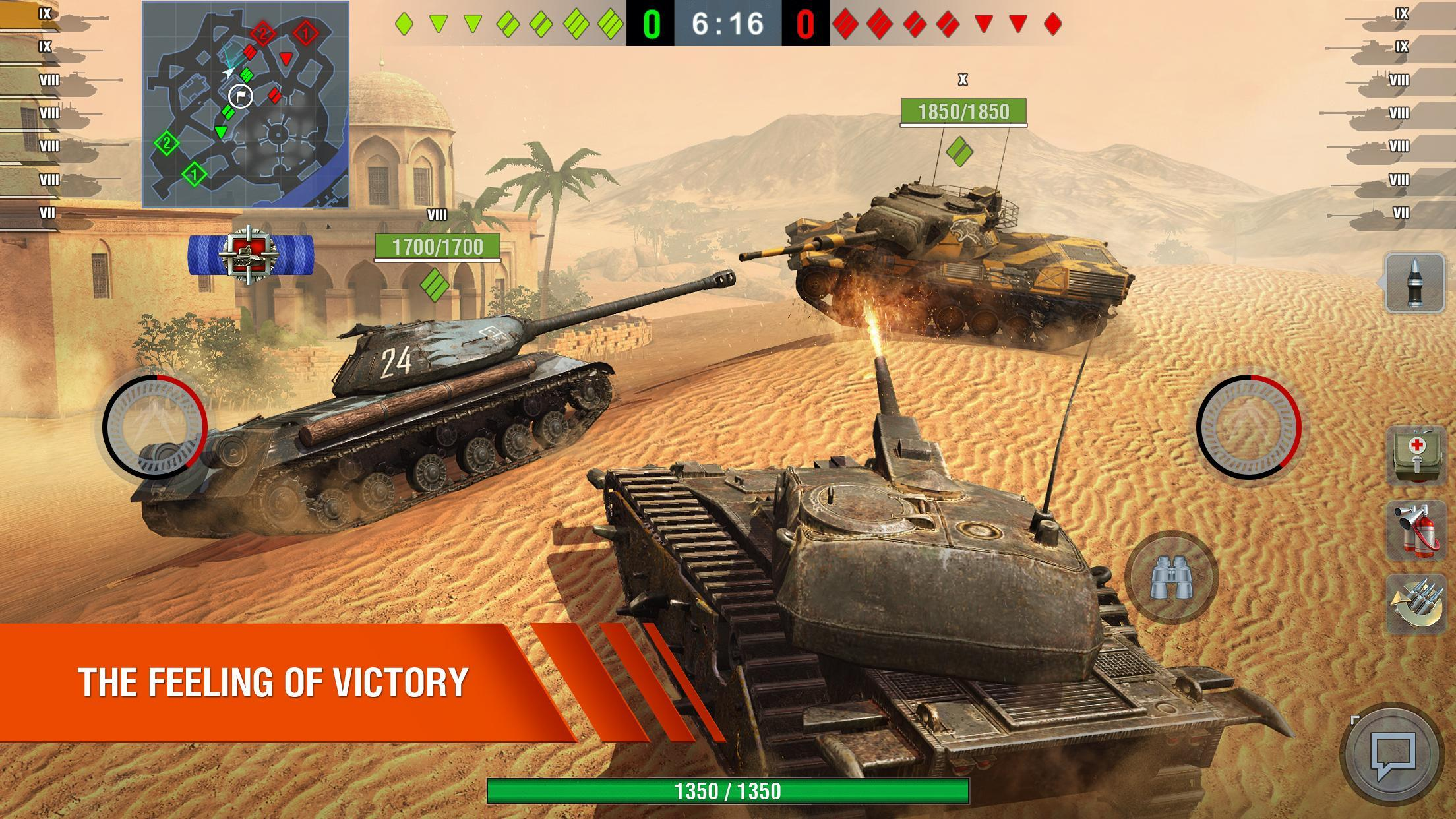 World of Tanks Blitz MMO 7.1.1.521 Screenshot 1