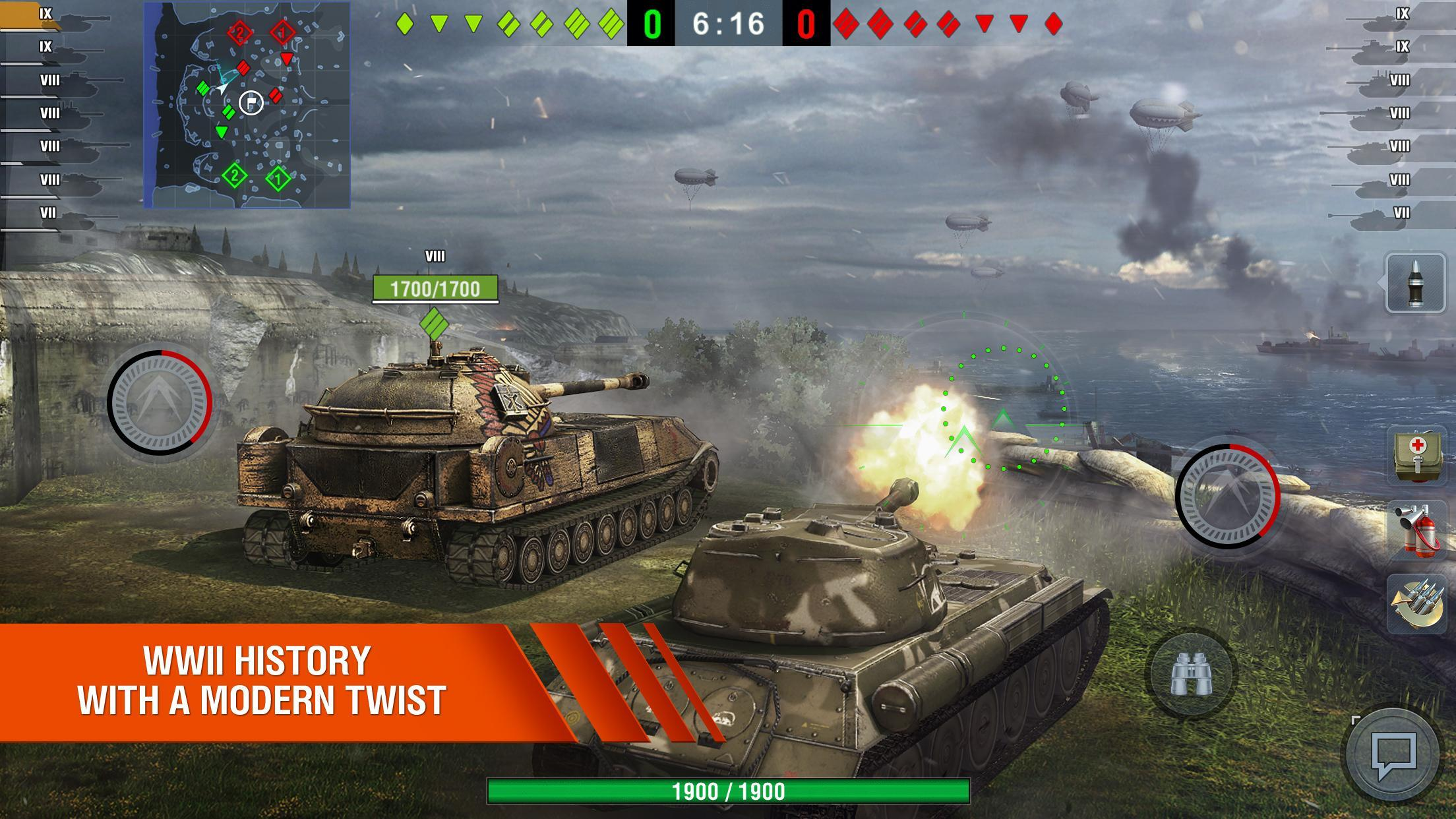 World of Tanks Blitz MMO 7.1.1.521 Screenshot 4