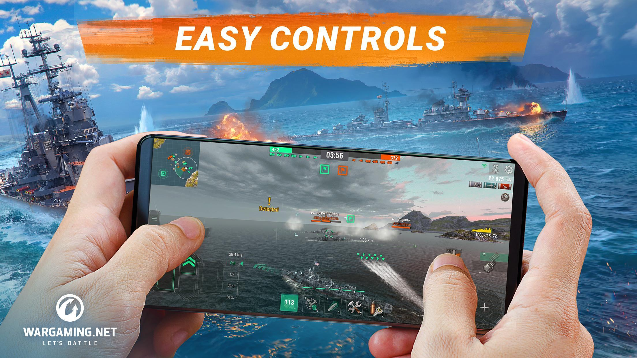 World of Warships Blitz: Gunship Action War Game 3.3.0 Screenshot 1