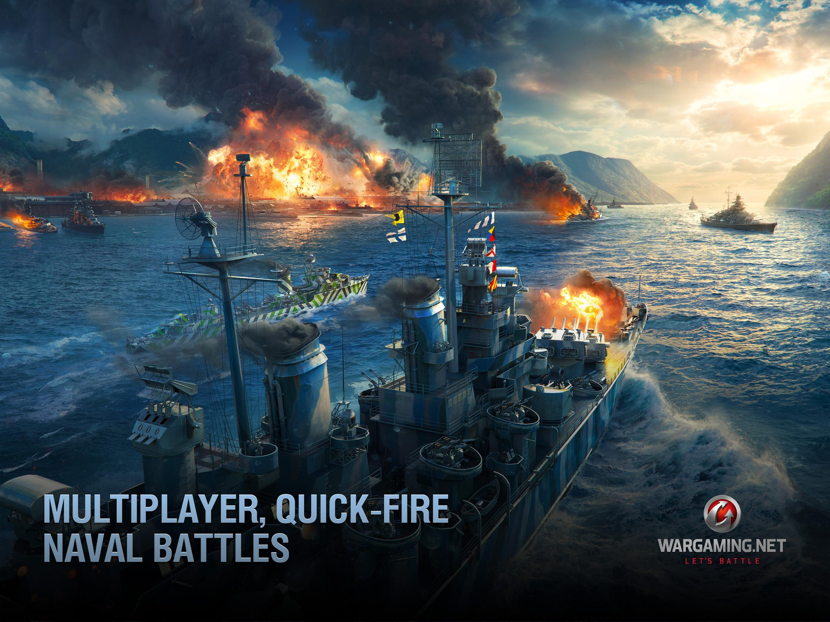 World of Warships Blitz: Gunship Action War Game 3.3.0 Screenshot 10