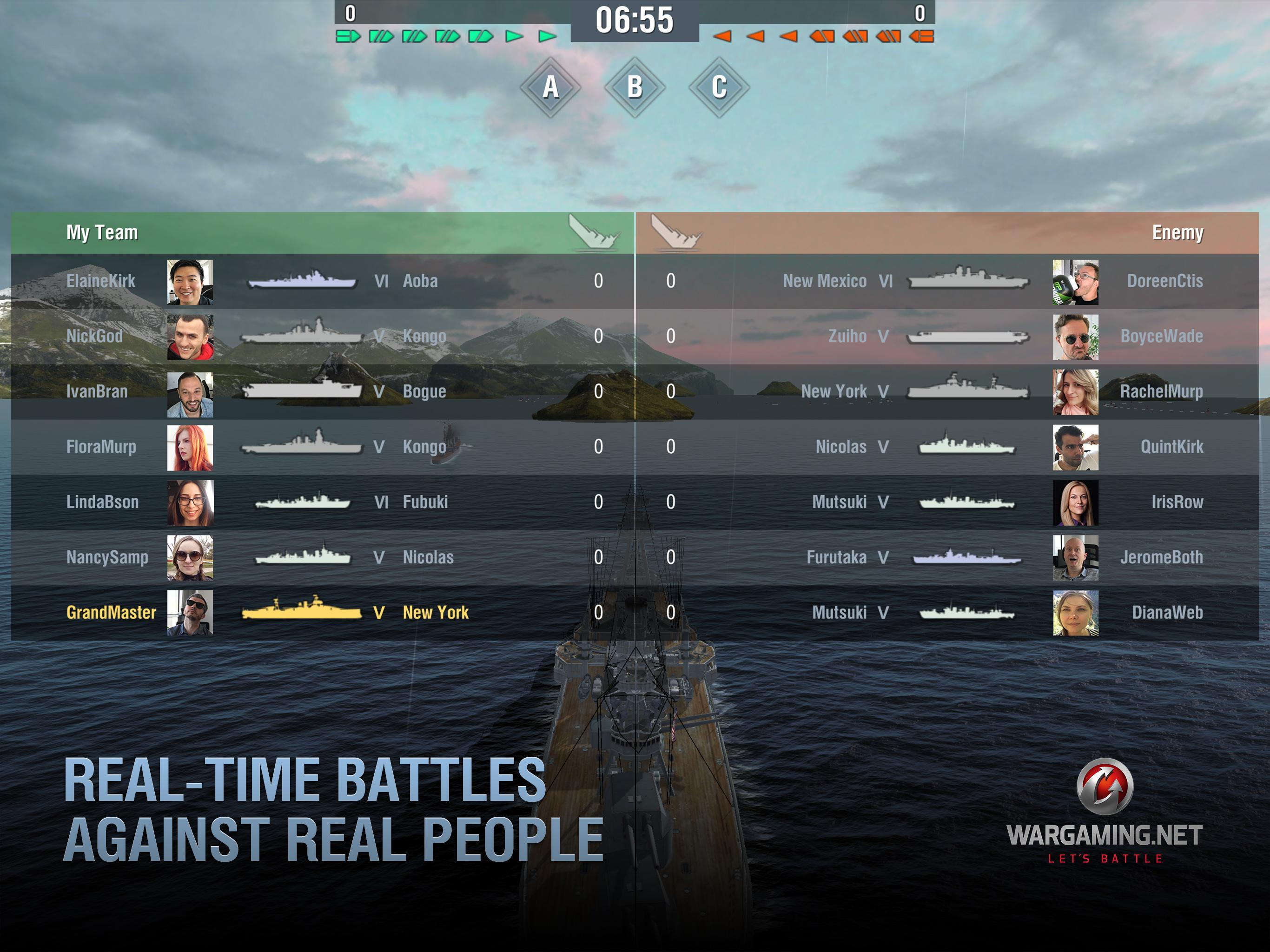 World of Warships Blitz: Gunship Action War Game 3.3.0 Screenshot 11